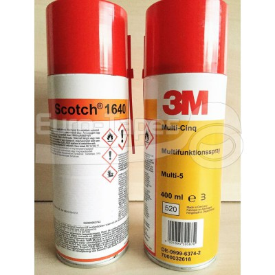 Tisztító/kenő spray 3M 1640 Multi five 400ml