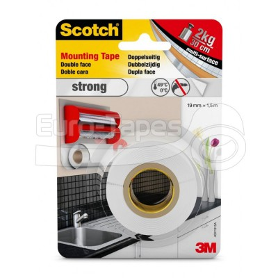 3M Strong tape átlátszó 19mmx1,5m