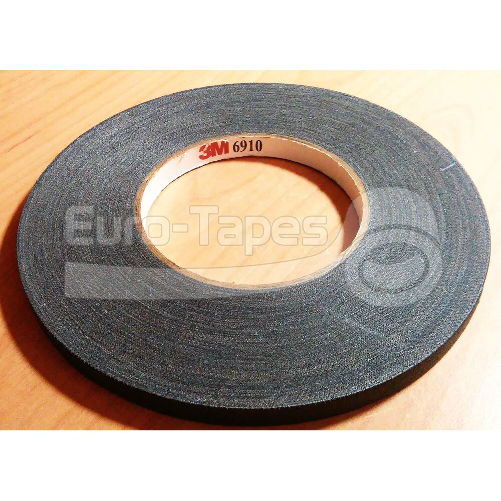 Duct tape 3M 6910 9,5mmx55m fekete
