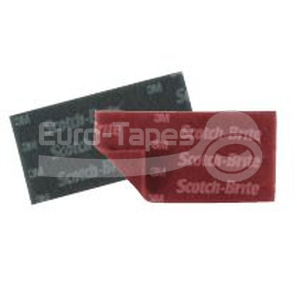 3M Scotch Brite 7447 PRO 158mmx224mm (20db) bordó