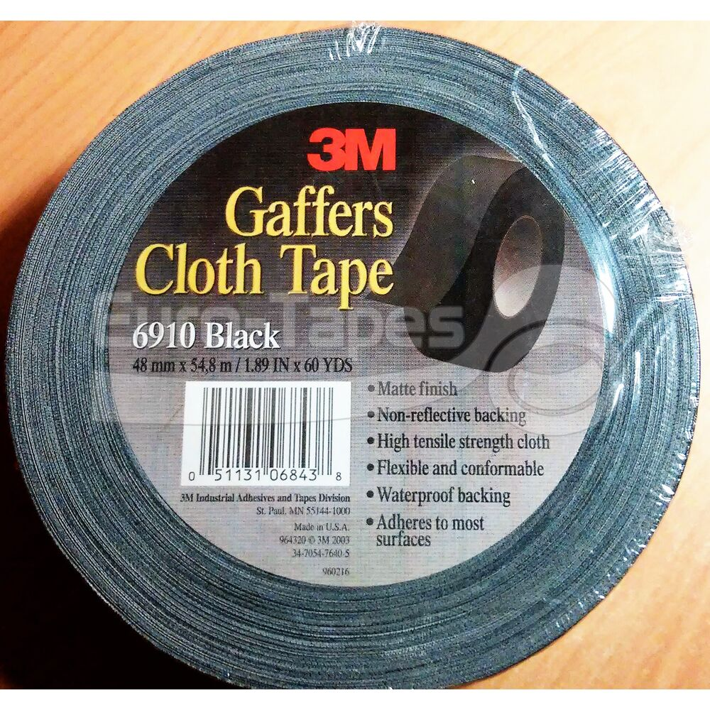 Duct tape 3M 6910 48mmx55m fekete
